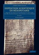 Expédition scientifique en Mésopotamie