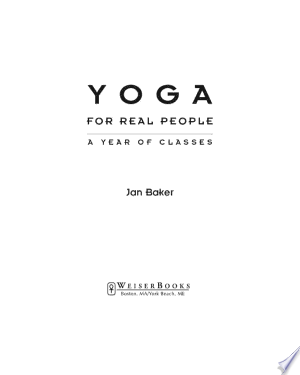 Download Yoga for Real People Free Books - Read Books