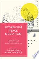 Rethinking Peace Mediation Book PDF