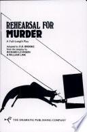 Rehearsal for Murder Pdf/ePub eBook