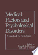 Medical Factors and Psychological Disorders Book
