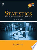 Statistics for Business and Economics  5th Edition Book