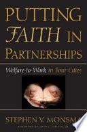 Putting Faith in Partnerships