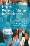 Health Behavior Change in Populations