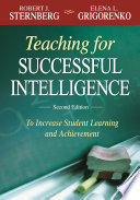 Teaching For Successful Intelligence Book PDF