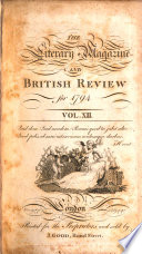 Literary And Biographical Magazine And British Review