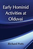 Early Hominid Activities at Olduvai [Pdf/ePub] eBook