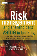 Risk Management and Shareholders  Value in Banking