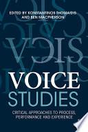 Voice Studies Book PDF