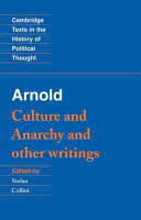 Arnold: 'Culture and Anarchy' and Other Writings ebook