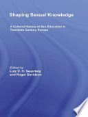 Shaping Sexual Knowledge Book