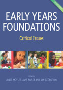 Early Years Foundations  Critical Issues