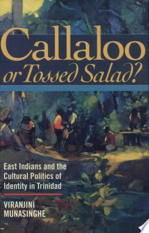 Download Callaloo Or Tossed Salad? Free Books - Dlebooks.net