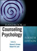 Handbook of Counseling Psychology