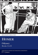 Pdf Homer: Odyssey: Books I and II