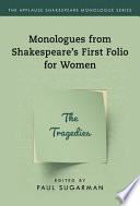 Monologues from Shakespeare's First Folio for Women