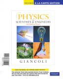 Physics for Scientists and Engineers, Books a la Carte Edition