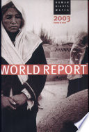 Human Rights Watch World Report 2003