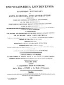 Pdf Encyclopaedia Londinensis, Or, Universal Dictionary of Arts, Sciences, and Literature