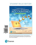 Horngren s Financial and Managerial Accounting  the Managerial Chapters  Student Value Edition