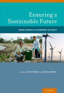 Ensuring a Sustainable Future Pdf/ePub eBook
