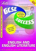 English and English Literature