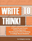 Write to Think