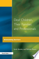 Deaf Children and Their Families Book PDF