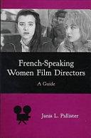 French-speaking Women Film Directors