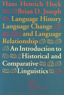 Language History  Language Change  and Language Relationship