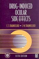 Drug Induced Ocular Side Effects Book PDF