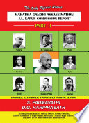 Mahatma Gandhi Assassination  J L  Kapur Commission Report   Part   1