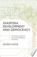Diaspora  Development  and Democracy