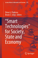 Smart Technologies    for Society  State and Economy