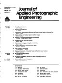 Journal of Applied Photographic Engineering Pdf/ePub eBook