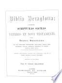 The Hexaglot Bible Book