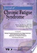 Myalgic Encephalomyelitis / Chronic Fatigue Syndrome