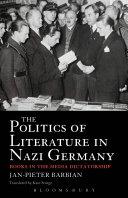 The Politics of Literature in Nazi Germany
