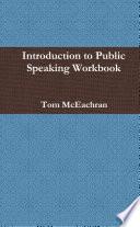 Introduction To Public Speaking Workbook