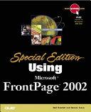 Using Microsoft FrontPage 2002