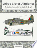United States Airplanes Coloring Book for Adults 1  2   3