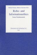 Robo  and Informationethics