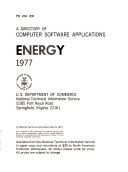 A Directory Of Computer Software Applications Book PDF