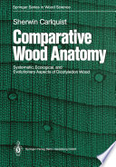 Comparative Wood Anatomy