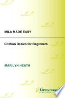Mla Made Easy Citation Basics For Beginners