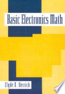 Basic Electronics Math