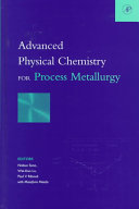 Advanced Physical Chemistry for Process Metallurgy Book