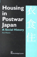 Housing in Postwar Japan