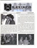 Newsletter of the Black Caucus of the American Library Association Book