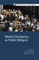 World Christianity as Public Religion Pdf/ePub eBook